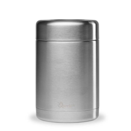 Lekdichte thermos foodjar RVS 650ml Qwetch