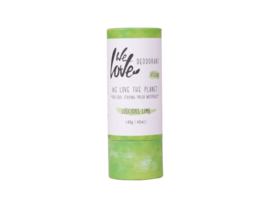 We Love the Planet deodorant stick VEGAN Luscious Lime