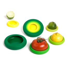 Food Huggers - reusable silicone foodsavers