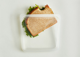 Stasher - reusable multi-purpose silicon sandwichbag