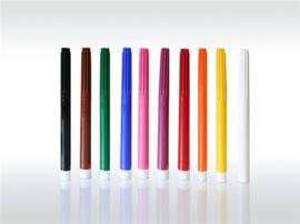 Ökonorm 9 gekleurde viltstiften en gum - waterbasis
