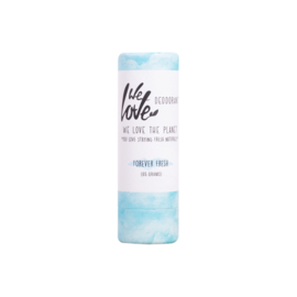 We Love the Planet natuurlijke deodorant stick Forever Fresh