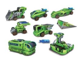 Hybride solar speelgoed bouwset