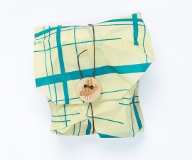 Sandwich wrap - Bee's Wrap bijenwasdoek Teal