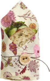 Vegan sandwich wrap - Bee's Wrap plantaardige wasdoek