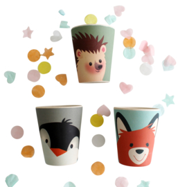Bamboo kids cup Owl