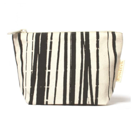 Make-up tasje van biokatoen Wrapping Stripes 18 x 12cm
