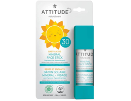 Attitude Little ones zonnecreme Facestick geurvrij 18gram