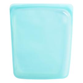 Stasher - herbruikbaar siliconen zak voor veel doeleinden LARGE blauw