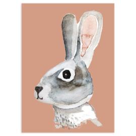 ansichtkaart Bunny - Nuukk