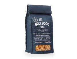 Herbruikbare Bulk Food Bag zwart - Small