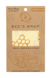 Bee's Wrap - assorted set of 3