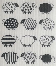 Vaatdoek Sheep - biologisch afbreekbaar