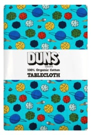 Duns Sweden tafelkleed Small Planets Blue Atoll DUNS Sweden - 140x220cm
