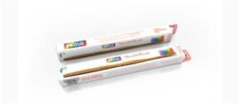 Humblebrush bamboe tandenborstel regenboog