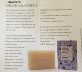 Flair september 2016 - shampoo bar Babongo