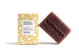 Babongo bath / shower soap Patchouli & Sandalwood
