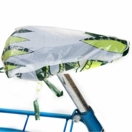 Bioplastic saddle cover