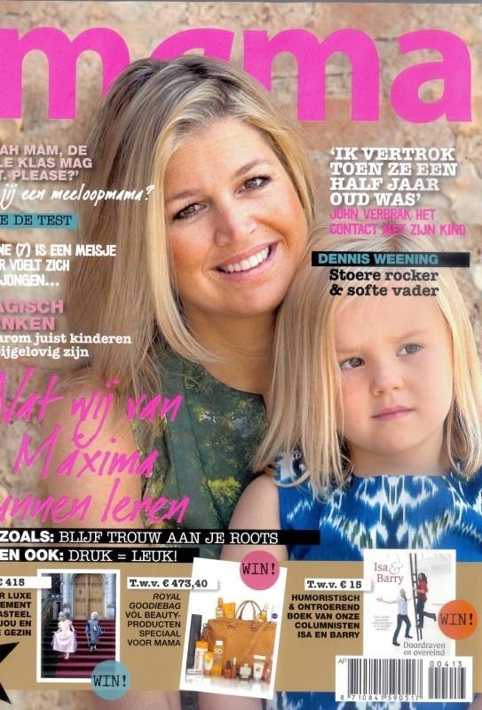 Kek Mama april 2013 - Lectuurbak Old News van Creatables