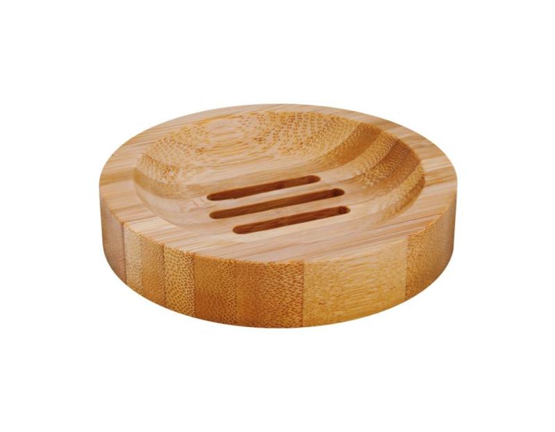 Bamboe zeepschaaltje rond