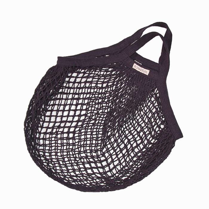 grannys stringbag - organic-cotton shopping bag grey