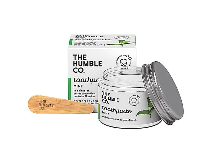Humblebrush zero waste tandpasta - mint met fluoride