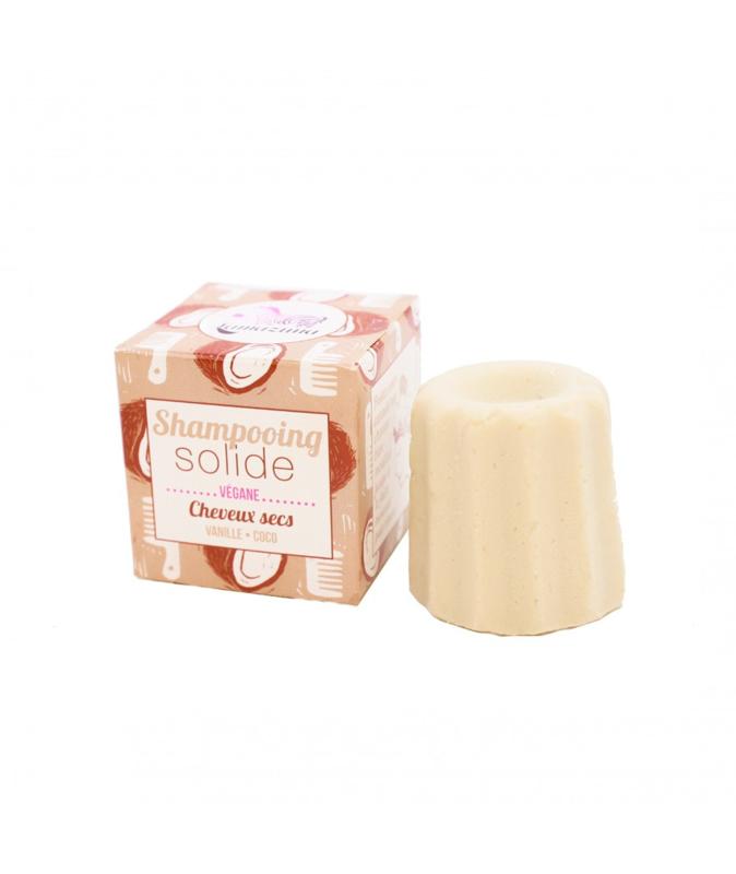 Shampoo bar voor droog haar van Lamazuna Kokos& Vanille