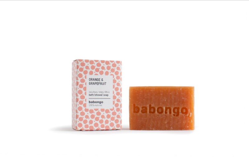 Babongo bath soap Grapefruit & Orange