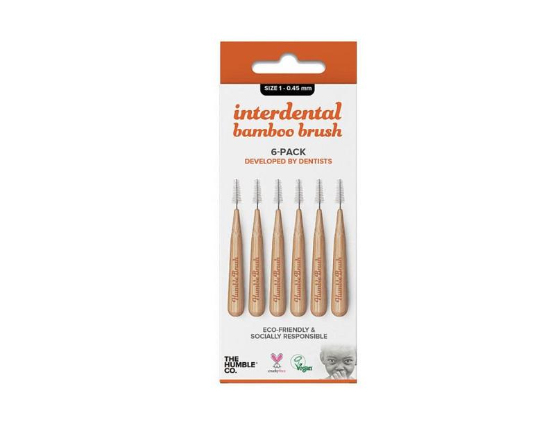 Humble Brush bamboe interdentale ragers maat 1