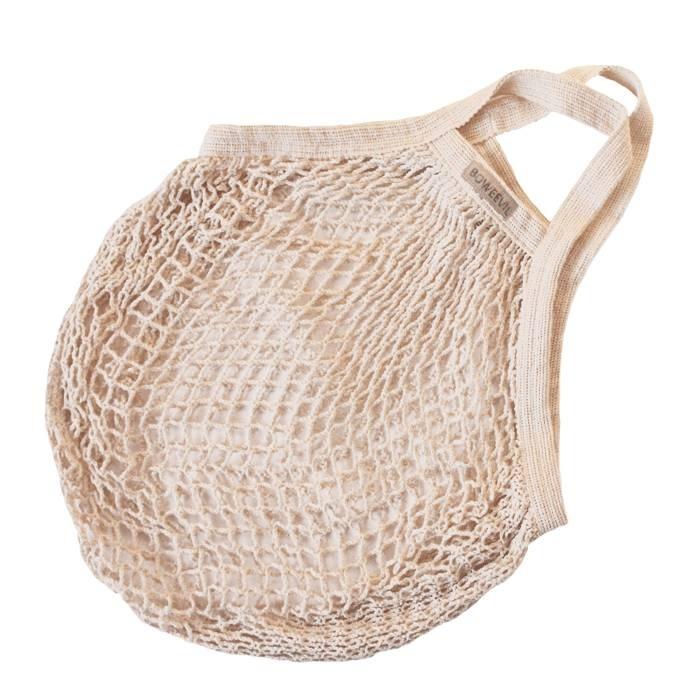 Granny's nettasje - boodschappentasje van biokatoen ecru