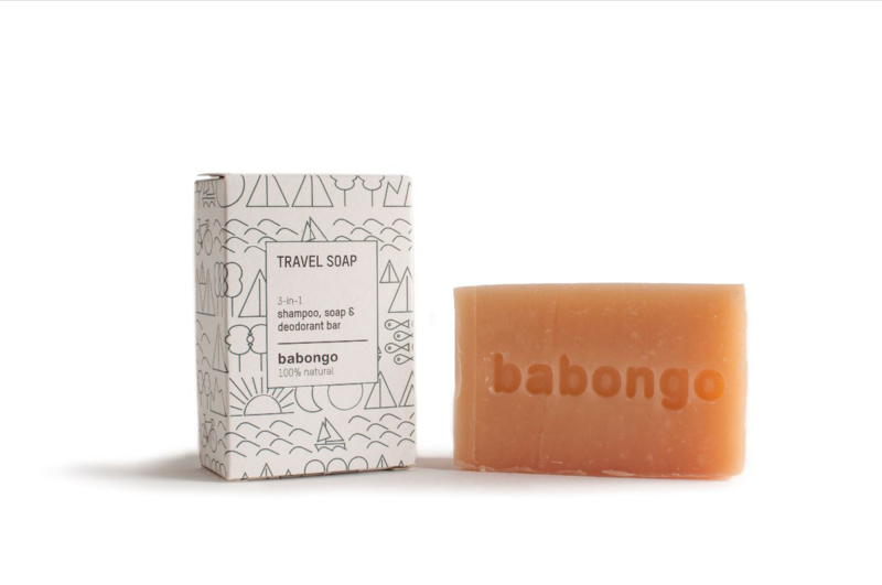 Babongo Travel soap 3-in-1
