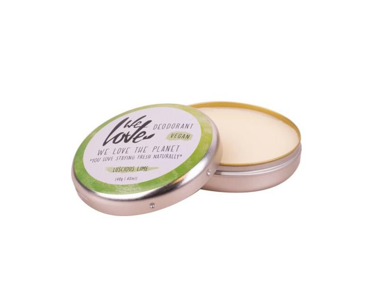 We Love the Planet natuurlijke deodorant VEGAN Luscious Lime