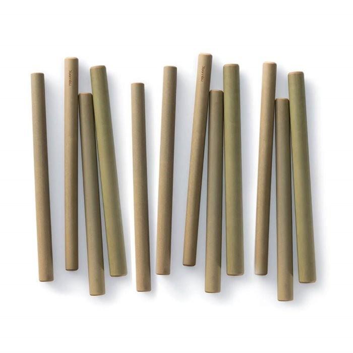 bamboe rietje per stuk - Bambu
