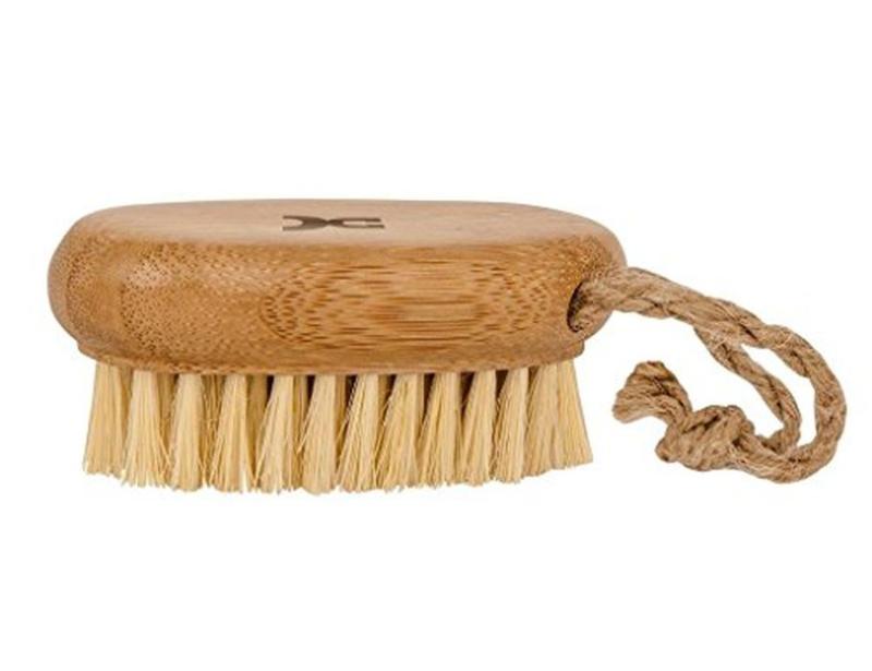 Kleine nagelborstel van bamboe
