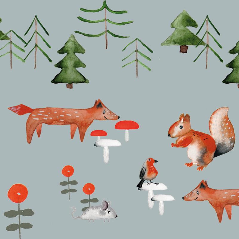 Organic tattoos Forest Animals - Nuukk