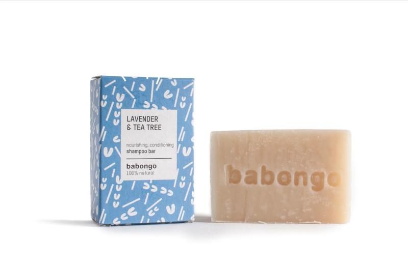 Babongo shampoo bar Lavender & Tea tree