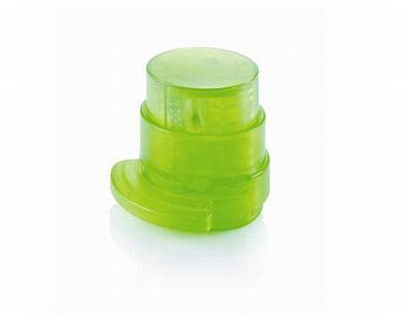 Nietloze nietmachine van gerecycled plastic