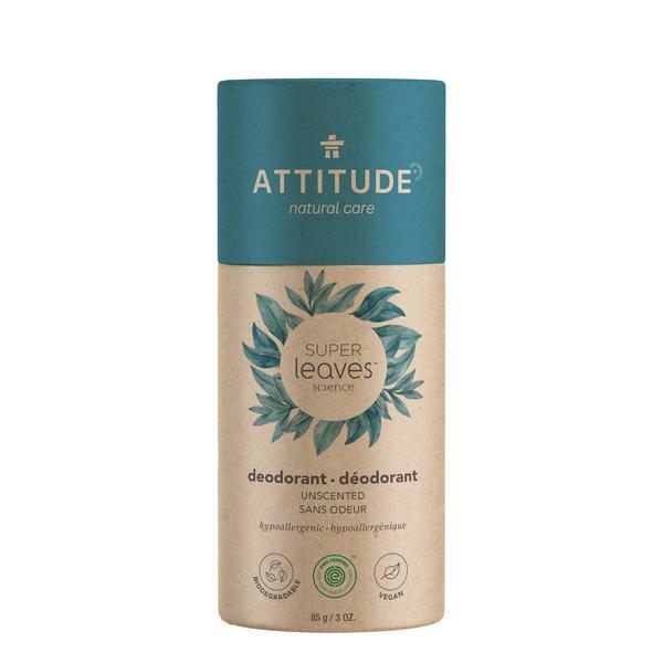 Plasticvrije deodorant stick geurloos - Attitude