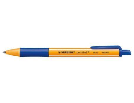 Pointball balpen Stabilo blauw