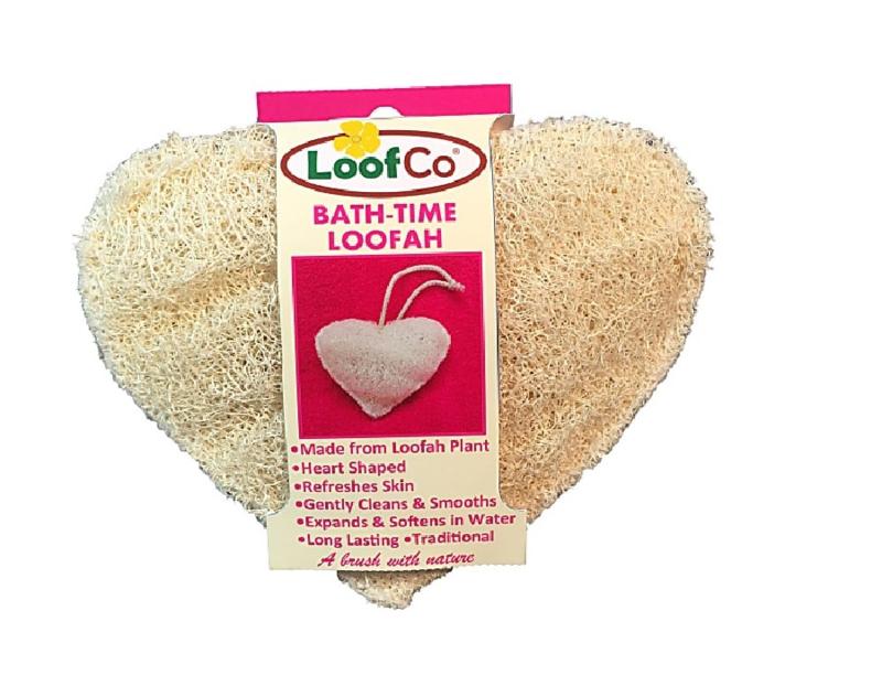 LoofCo body loofah badspons hartvorm