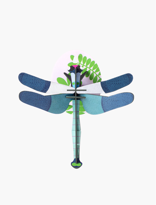Blue Dragonfly - Studio Roof