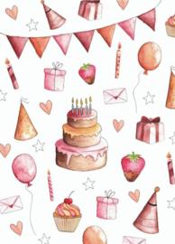 Kaart Verjaardag