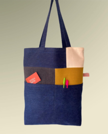 Tote bag Pocket jeans