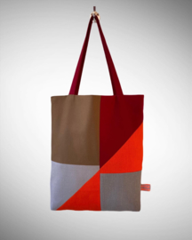 Tote bag Orange Geo