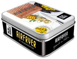 Blik op koken Airfryer