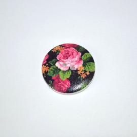 Knoop rond 18mm bloem