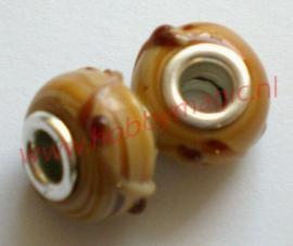Pandora style glasbead nr.18