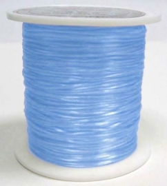 nylon elastiek 0.6mm 5meter blauw