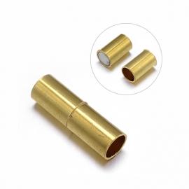 Magneetslot 20x6mm gat 4.5mm