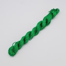 Satijnkoord 2mm groen